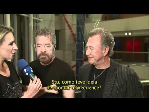 Rebeca Grisi entrevistou Doug Clifford e Stu Cook do Creedence Cleawater Revival