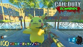 POKEMON GO ZOMBIES!!! - CALL OF DUTY BLACK OPS 3 CUSTOM ZOMBIES MOD! (BO3)