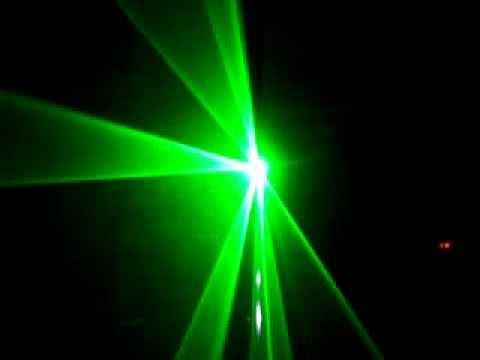 Đèn laser quét tia xanh 60mw motor - Đèn sân khấu