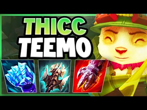 Download HOW THICC CAN SEASON 11 TEEMO REALLY BECOME?? TEEMO SEASON 11 TOP GAMEPLAY! - League of Legends