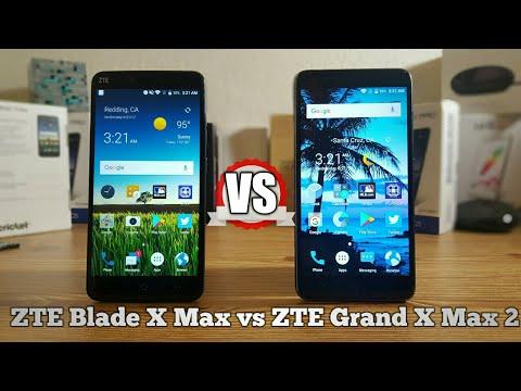 ZTE Blade X Max VS ZTE Grand X Max 2 Cricket Wireless Speed Test
