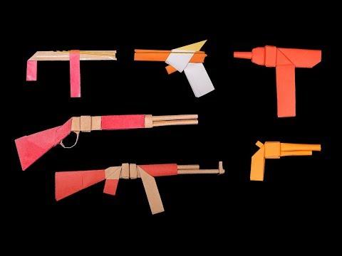 06 Cool #Paper #Gun #Slingshot