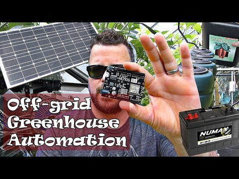 Off-grid Greenhouse And Garden Automation