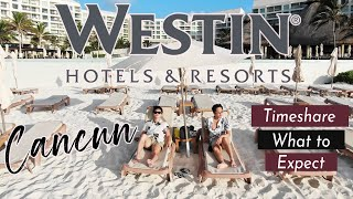 Westin Lagunamar Cancun Timeshare Experience Hotel Tour Room Tour and Review