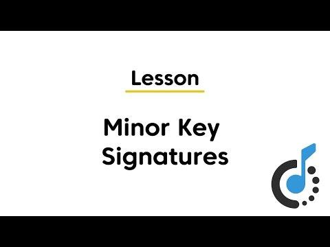 Minor Key Signatures - Corridor Music