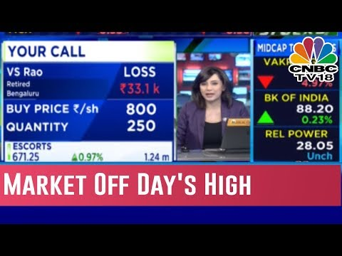 Market Off Day's High; HDFC Twins, RIL, BEML Jumps 8% & Midcap Index Underperforms