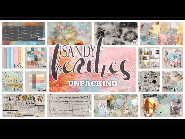 SANDY BEACHES - UNPACKING - BY NBK-DESIGN