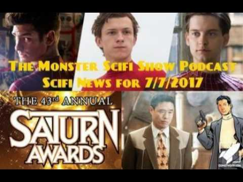 The Monster Scifi Show Podcast - Scifi News for 7/7/2017