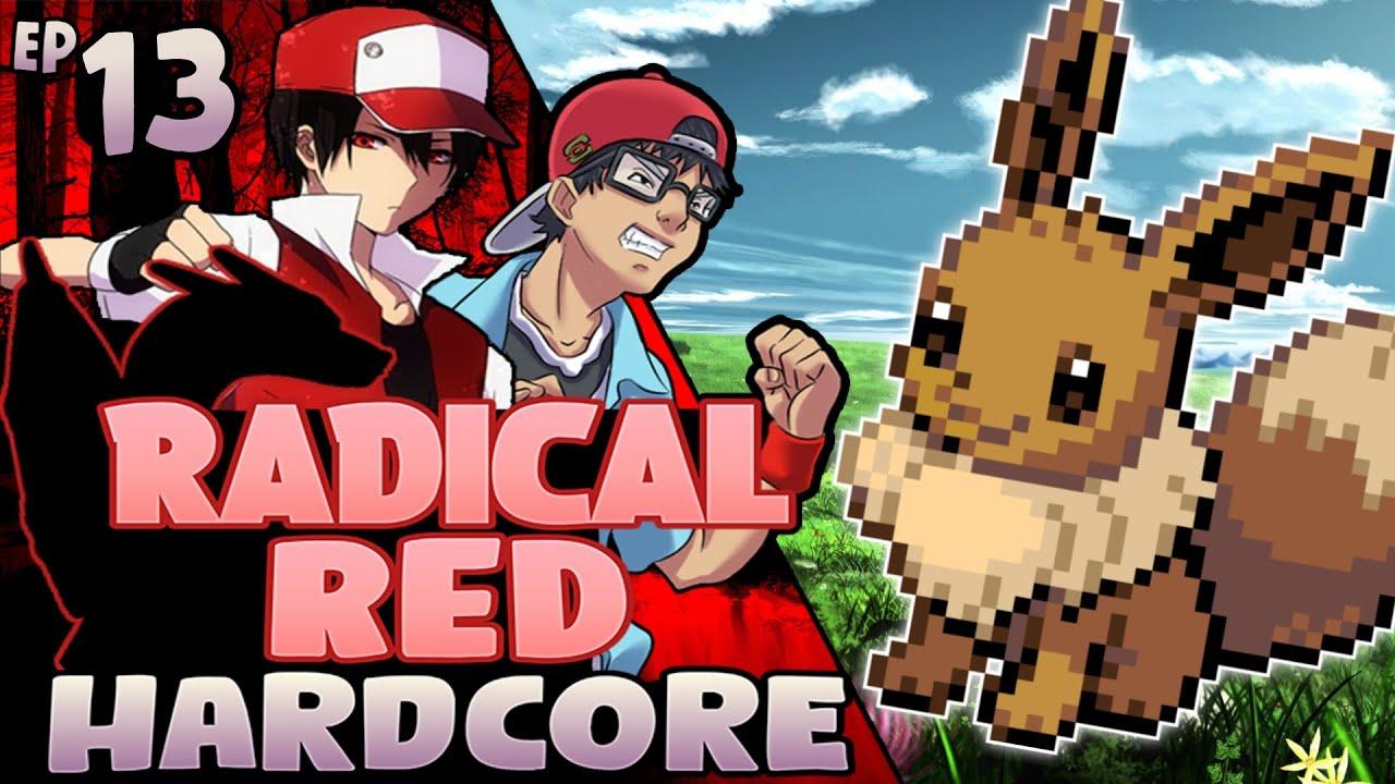 Pokémon Radical Red Hardcore Mode - FALA B.....  (EP-13)