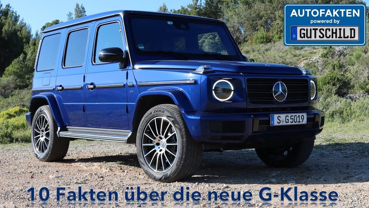 10 Fakten über die neue Mercedes Benz G Klasse inkl ...