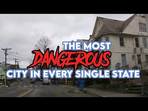 The Most Dangerous City in Every Single State. It's Very Alarming.