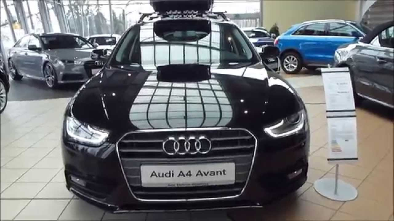Audi A4 2.0 >> 2015 Audi A4 Avant + Audi Roof Box 2.0 TDI 150 Hp Exterior & Interior * see also Playlist - YouTube