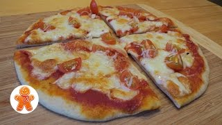 Тесто для пиццы (с добавлением ржаной муки)