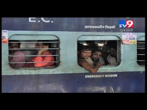 Scared North Indians leaving Gujarat, returning hometowns- Tv9