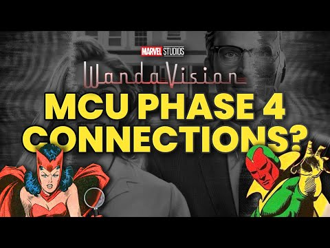 WandaVision Trailer BREAKDOWN: HIDDEN REFERENCES, Easter Eggs, MCU Phase 4 Connections EXPLAINED