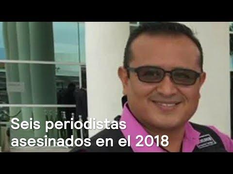 Durante el 2018 han asesinado a 6 periodistas en México - Las Noticias con Danielle