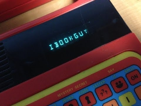 Speak & Spell - The First Ever PC?