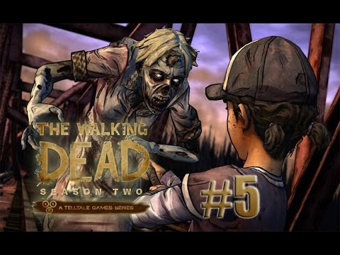 Let´s play The Walking Dead Season 2 [Blind/Facecam] - Episode 5