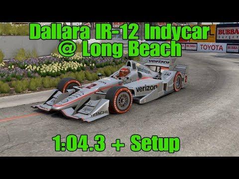 Project Cars 2 Dallara Indycar Long Beach | 1:04.3 + WR Setup
