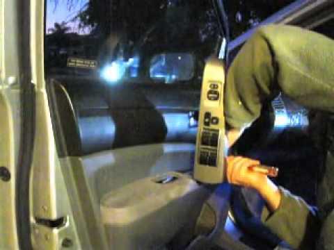 $6  Toyota door lock repair  Part 1 accessing actuator