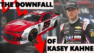 The Downfall of Kasey Kahne.  How it Occurred.