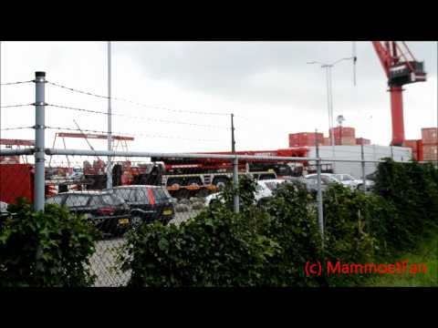 Mammoet Schiedam yard part 2