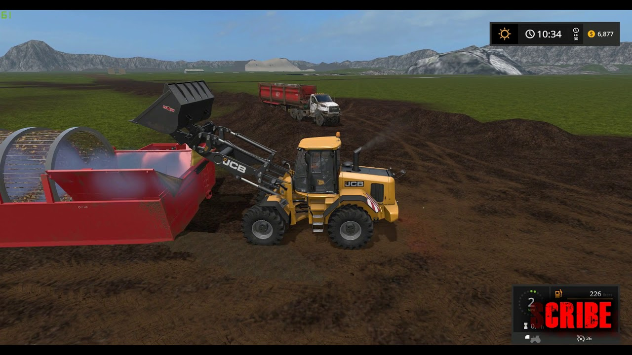 Farming simulator 17   Gold Mining Wash Plant - YouTube