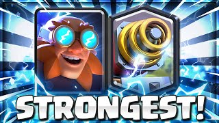 THIS IS LIKE CHEATING!! NEW ELECTRO GIANT SPARKY DECK in CLASH ROYALE!! 😱