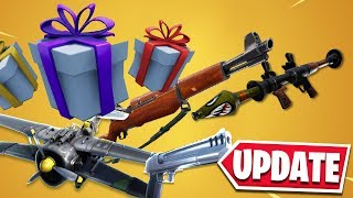 *NEW* FORTNITE V7.40 UPDATE PATCH NOTES! (Share The Love Event!)