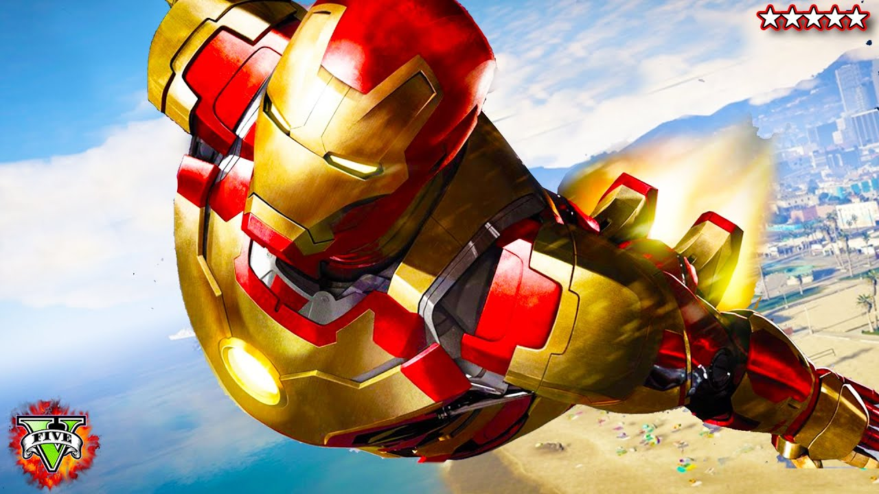 Iron Man Mod Gta V - Year of Clean Water