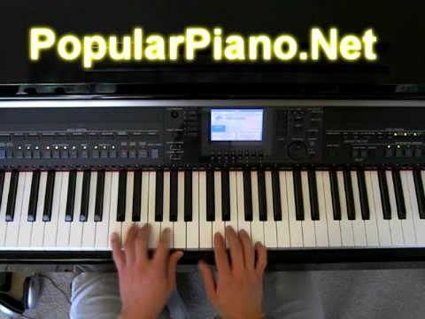 How To Play Right Here Waiting For You On Piano Youtube