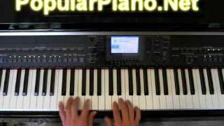 How to Play Right Here Waiting For You on Piano