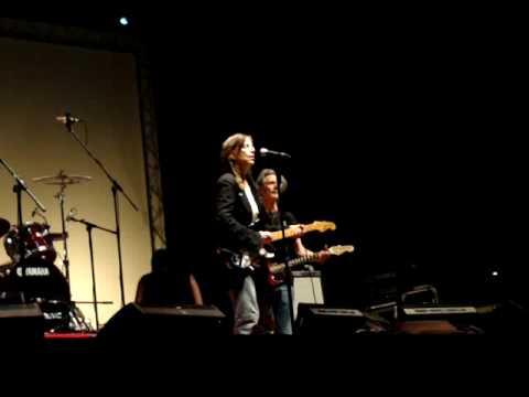 Amazing Patti Smith and admirable guitarist Tom Verlaine (Television) at Exit Festival 2009 Novi Sad