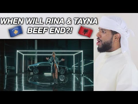 ARAB REACTION TO ALBANIAN RAP BY RINA - ILEGAL **TAYNA DISS**