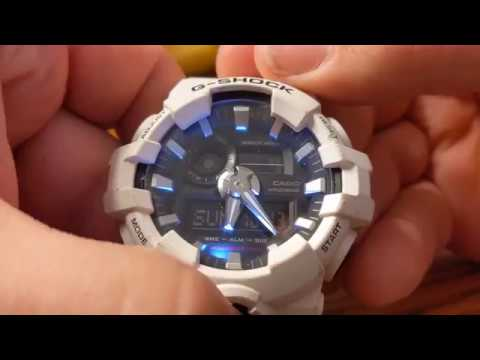 Casio G-Shock GA-700 Tear Down and Clean Up