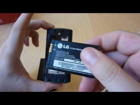 Ausgepackt: LG GM360 Viewty Snap