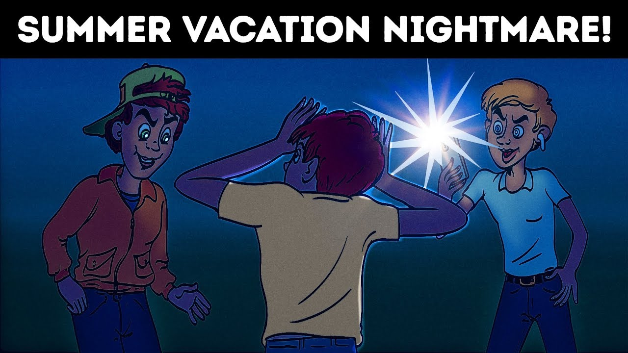 Download SUMMER VACATION NIGHTMARE. HORROR STORY ANIMATED