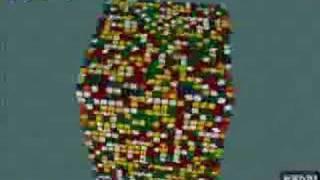 20x20x20 Rubik's Cube Solve thumbnail