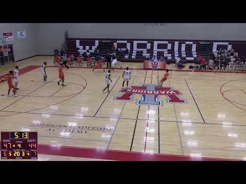 American Leadership  vs. Globe High School Varsity Womens' Basketball