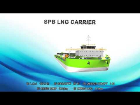 SELF PROPELLER BARGE - LNG CARRIER