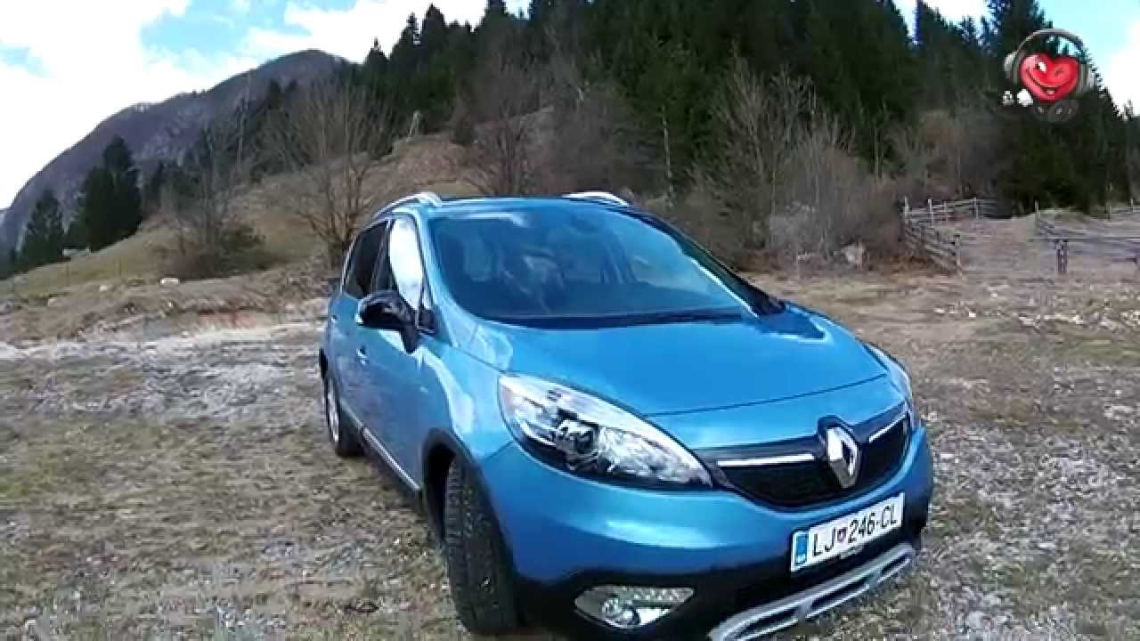 renault scenic xmod bose edition dci 130 energy youtube. Black Bedroom Furniture Sets. Home Design Ideas