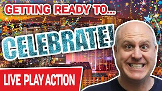 🔴 WINNING THE GRAND JACKPOT LIVE! Let's CELEBRATE! 🎉 Here at The Cosmopolitan of Las Vegas!