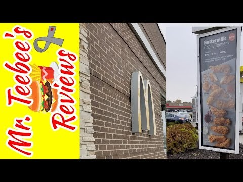 Buttermilk Chicken Crispy Tenders Mcdonalds Review