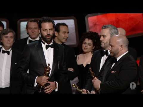 """The King's Speech"" winning Best Picture"