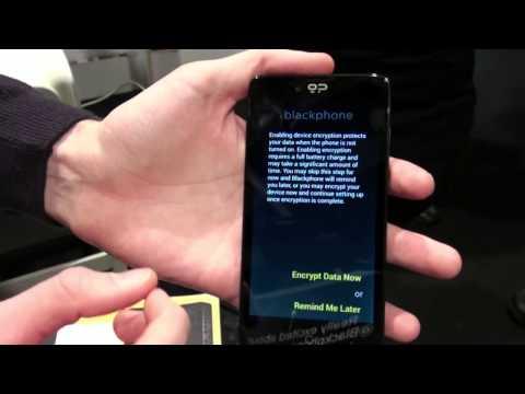 MWC2014: Das BlackPhone von Geeksphone und Silent Circle