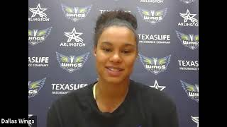 Dallas Wings Practice Media Availability August 3