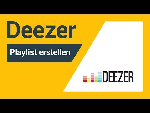 Deezer Playlist erstellen: So funktionierts