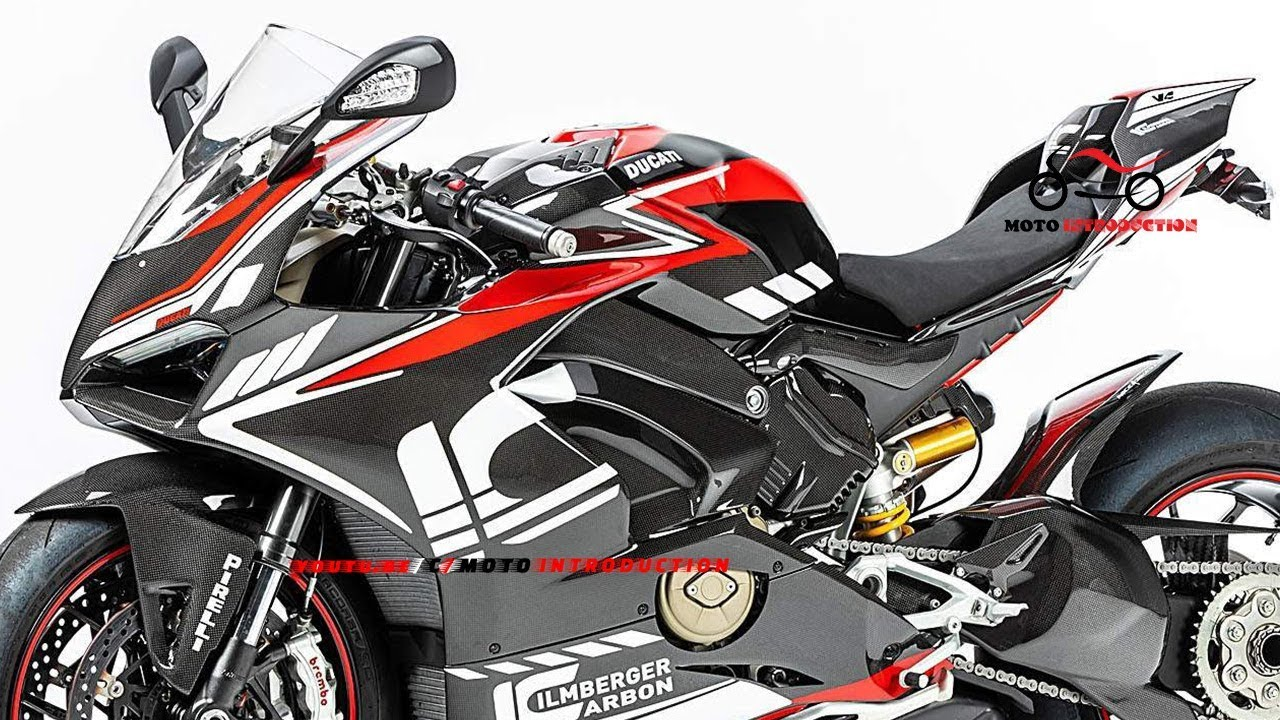 New 2019 Ducati Panigale V4 Carbon By Ilmberger Carbon Details