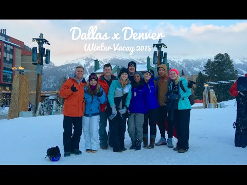 Dallas to Denver   Winter 2015
