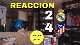 Real Madrid vs Atlético de Madrid 2-4 | Supercopa de Europa | REACCIÓN